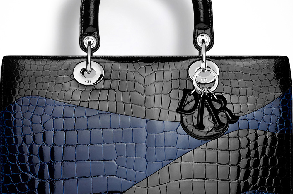 Christian-Dior-Large-Lady-Dior-Crocodile-Bag-Closeup