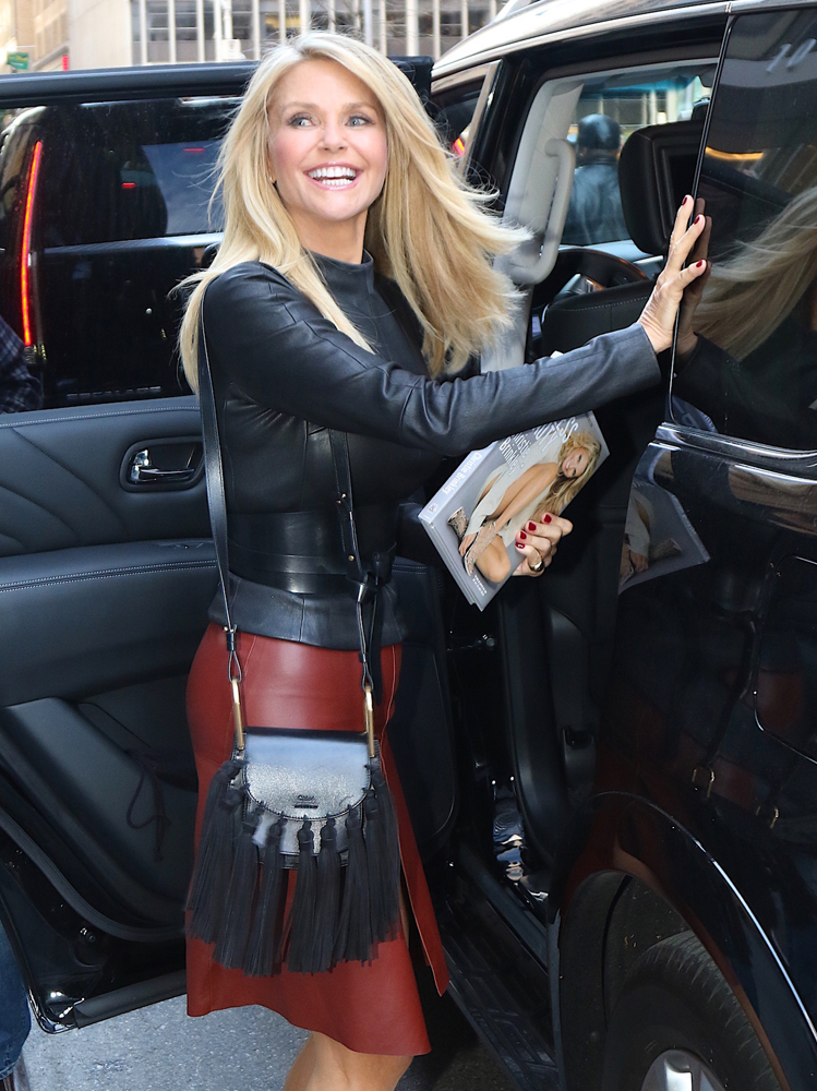 Christie-Brinkley-Chloe-Hudson-Tassel-Bag