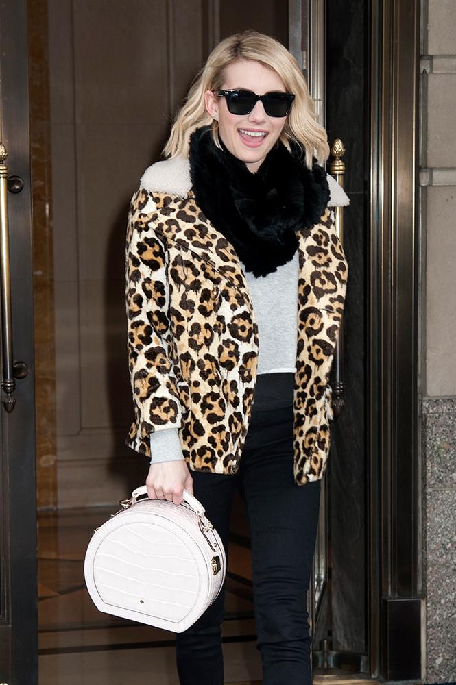 Emma-Roberts-Kate-Spade-Princedale-Road-Small-Hatbox-Handbag