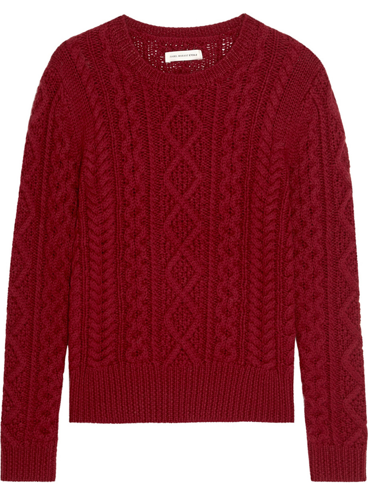 Etoile-Isabel-Marant-Nilsen-Cable-Knit-Fisherman-Sweater