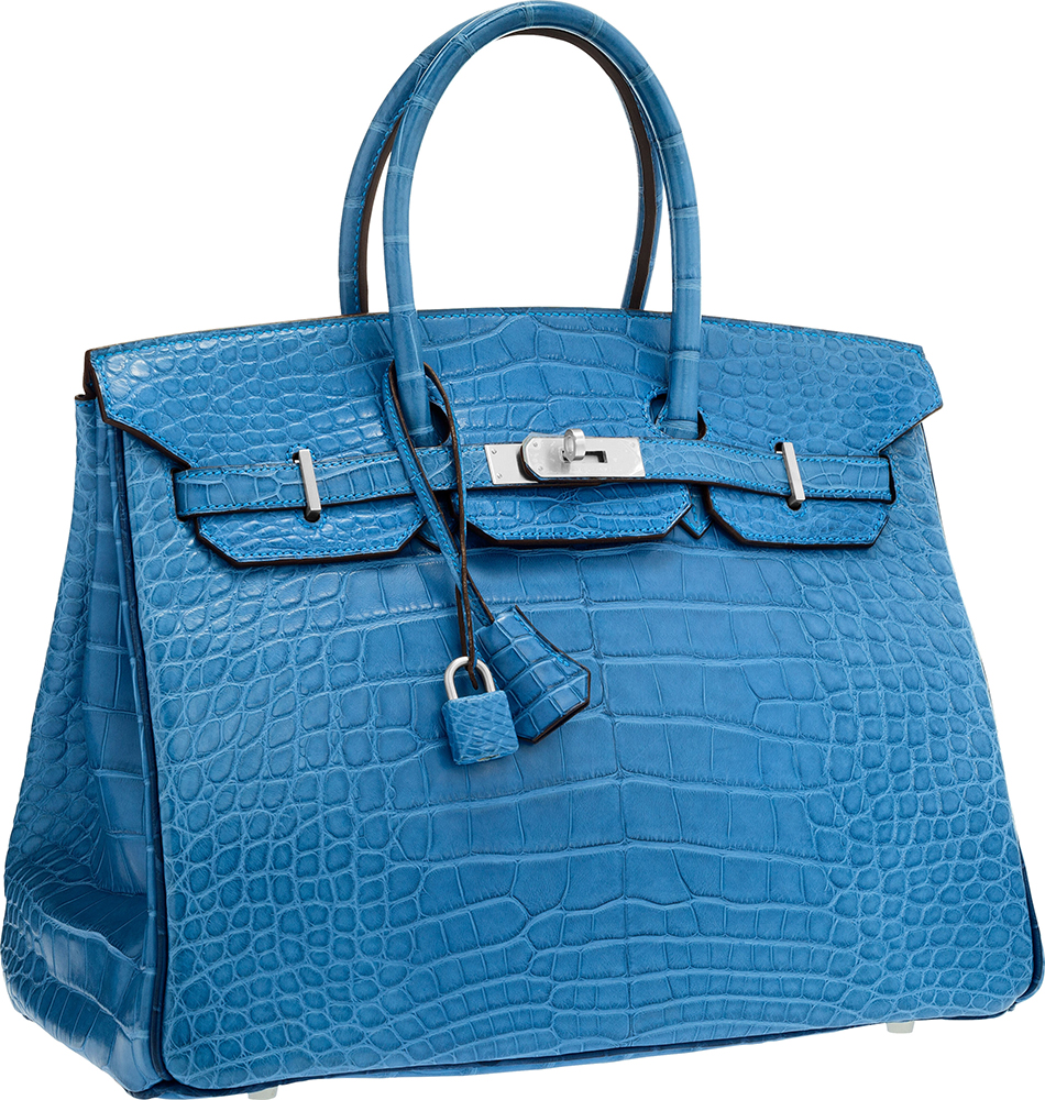 Hermès 35cm Special Order Matte Alligator Birkin, Bidding Starts at $25,000 via Heritage Auctions