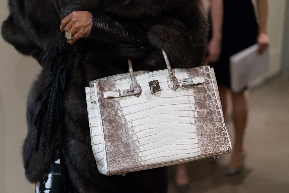 Hermes Himalayan Birkin with Diamonds