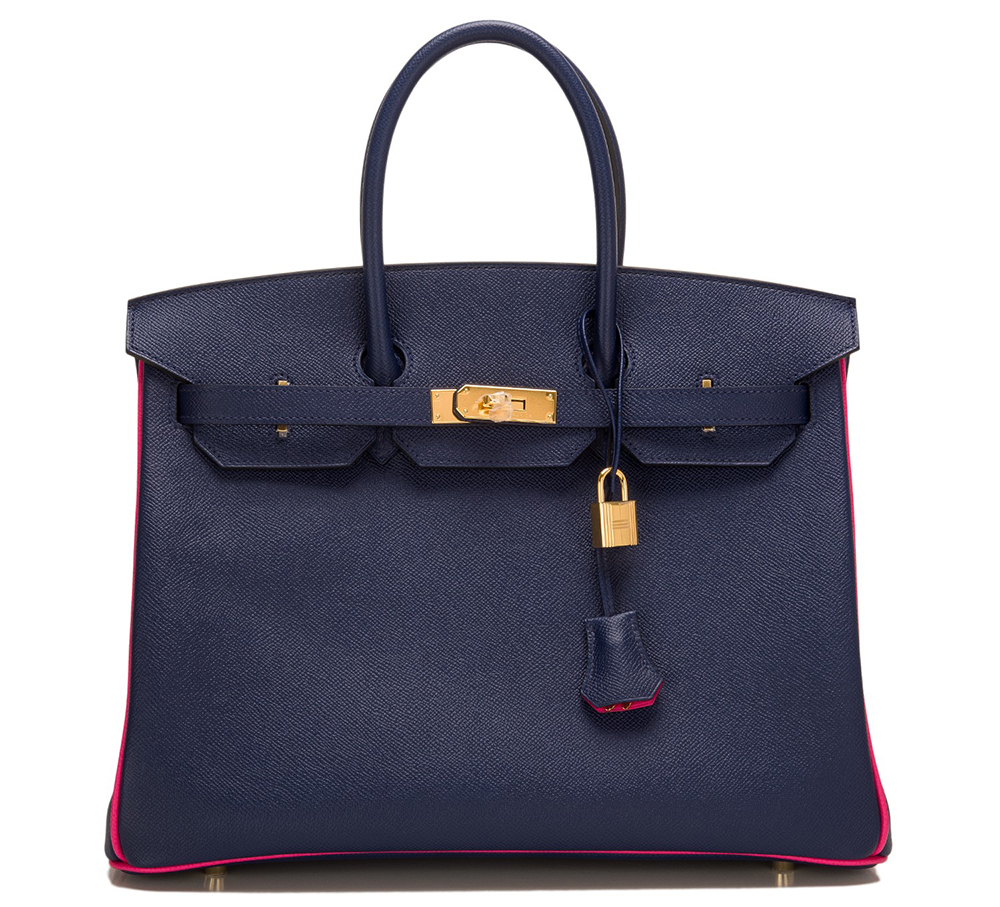 Hermes-Special-Order-Horseshoe-Stamped-Birkin-in-Sapphire-and-Rose-Tyrien-Epsom-Leather-35cm