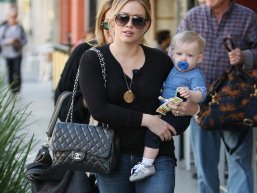 35 Pics That Illustrate Hilary Duff's Seemingly Endless Love for Chanel Bags