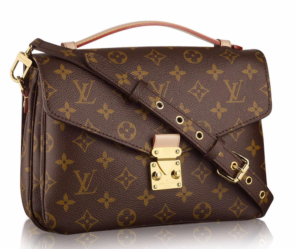 Best quality louis vuitton monogram canvas pochette metis for Louis vuitton miroir bags