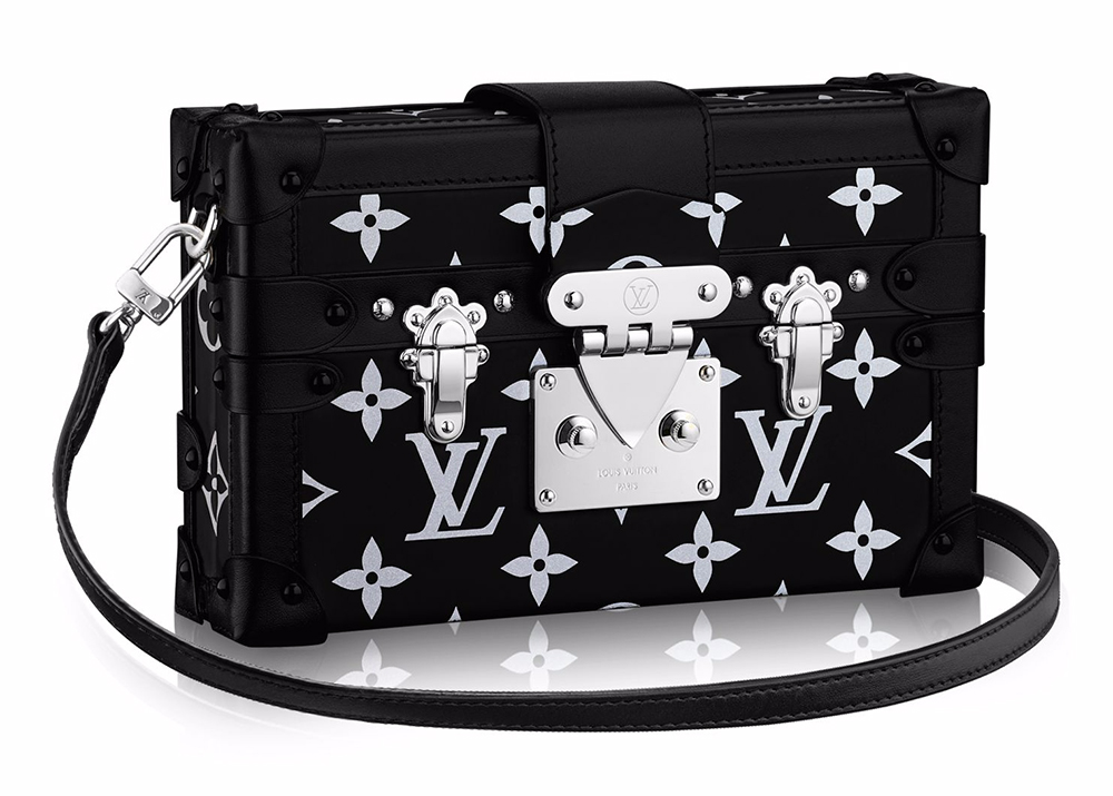 Louis-Vuitton-Petite-Malle-Reflective-Clutch
