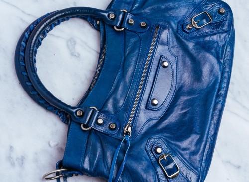 Rare Balenciaga Bag Dark Turquoise