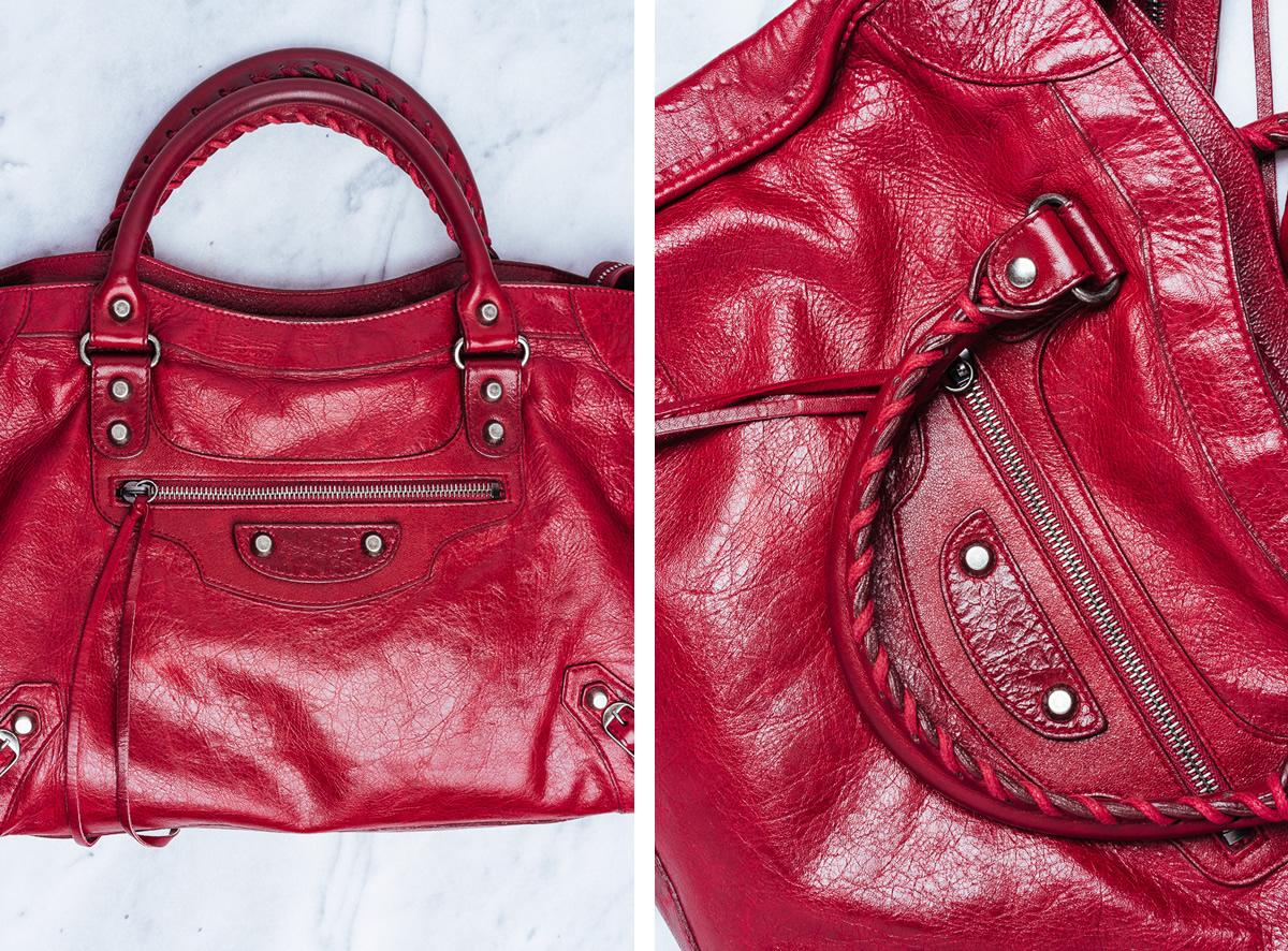 Balenciaga Clutch Red