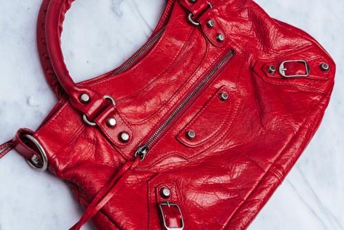 Rare Balenciaga Bags True Red