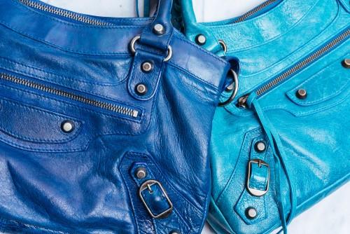 Rare Balenciaga Dark Turquoise and Turquoise