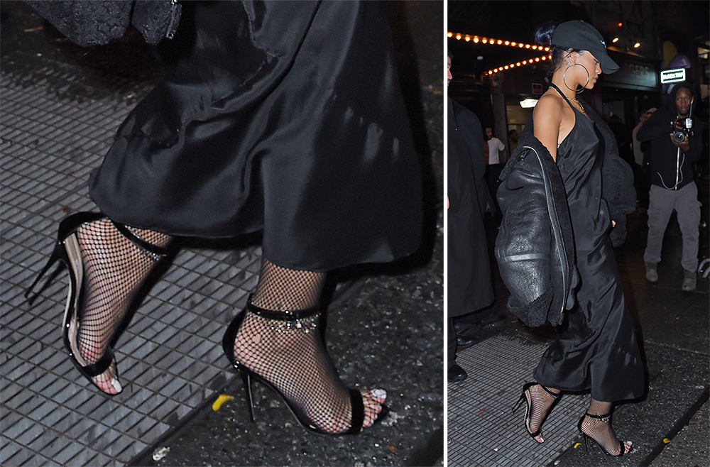 Rihanna-Manolo-Blahnik-Chaos-Sandals