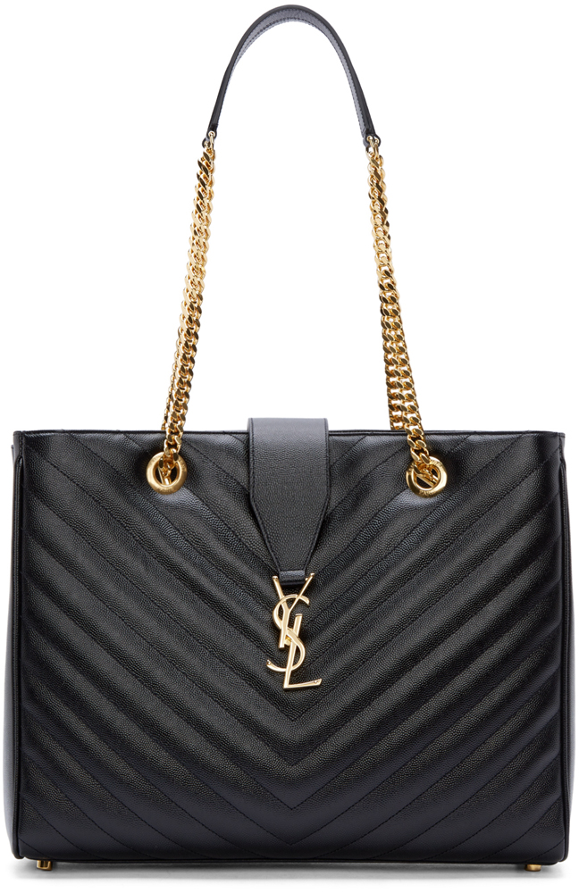Saint-Laurent-Monogramme-Matellage-Shoulder-Bag