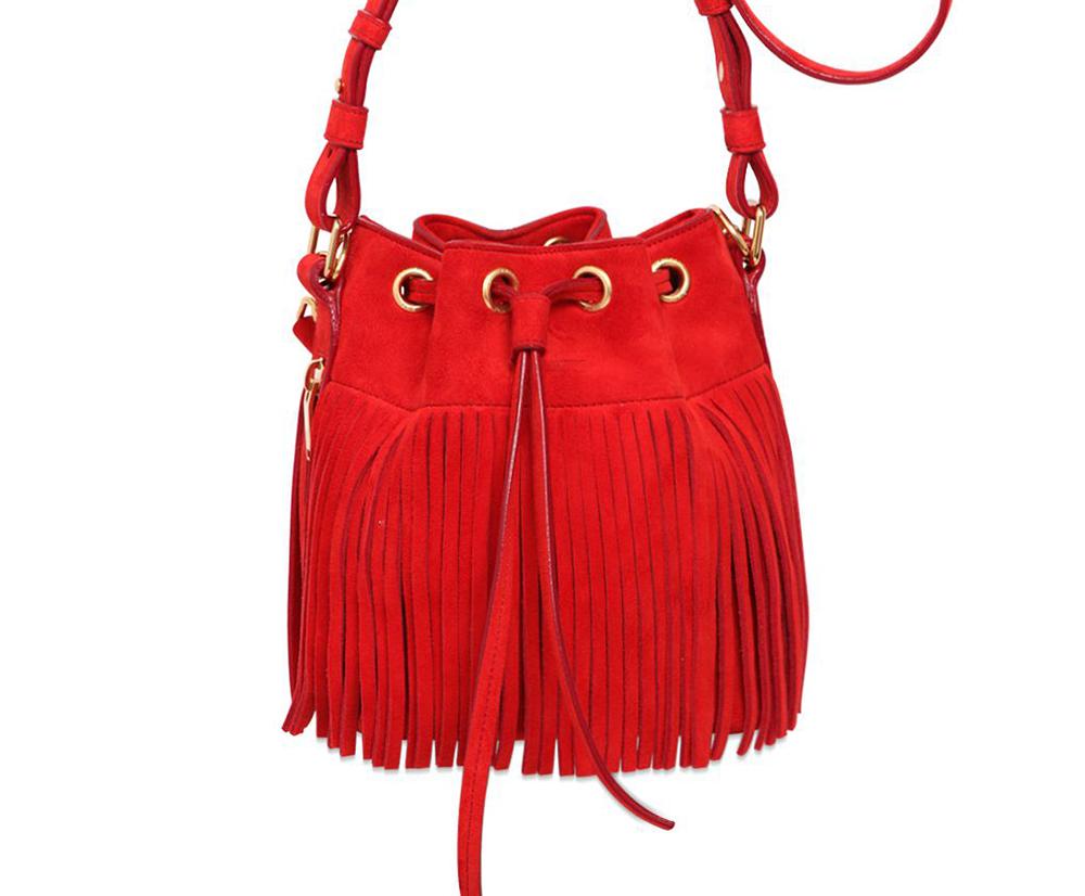 Saint-Laurent-Small-Emmanuelle-Fringe-Bucket-Bag