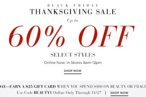 Black Friday: Get Up to 60% Off at the Saks Thanksgiving Sale