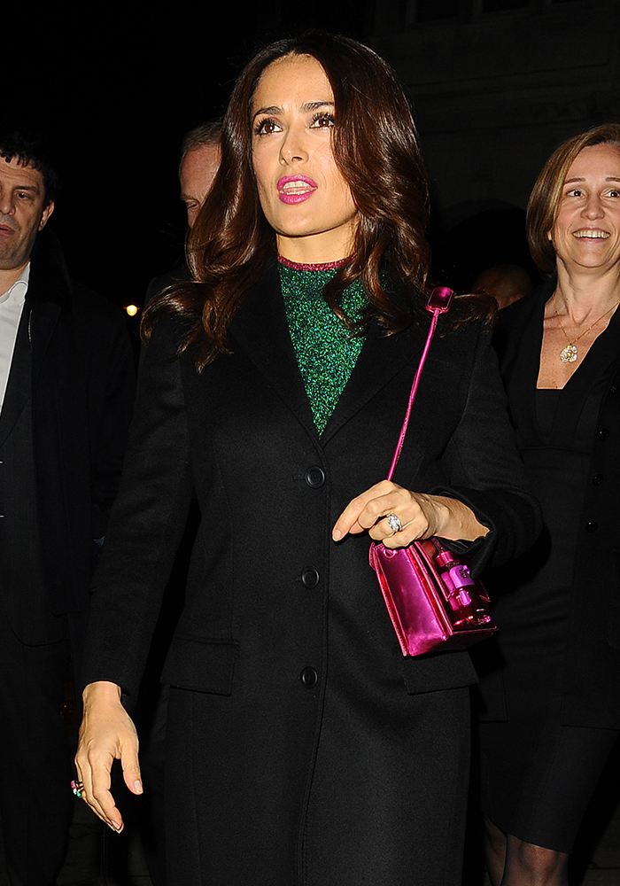 Salma-Hayek-Christopher-Kane-Safety-Buckle-Bag