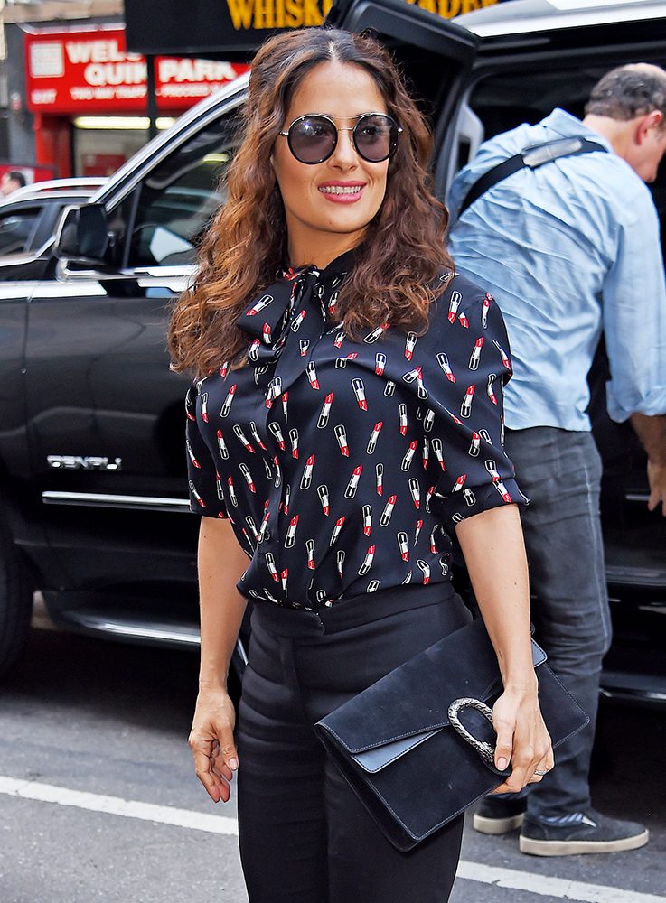 The Many Bags Of Salma Hayek Purseblog