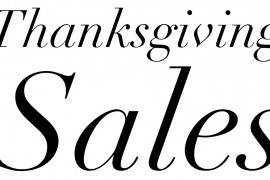 Check Out all the Just-Launched Thanksgiving Day 2015 Sales!