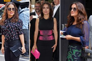 The Many Bags of Salma Hayek
