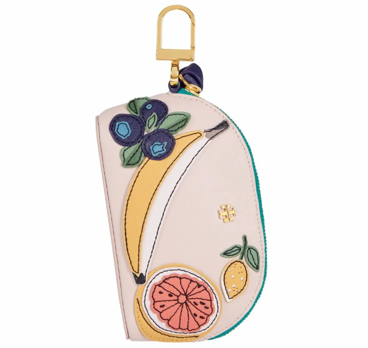 Tory Burch Domed Fruit Pouch Key Fob