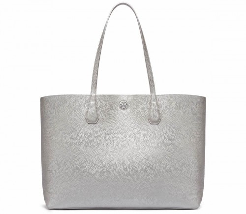 Tory Burch Perry Tote Silver