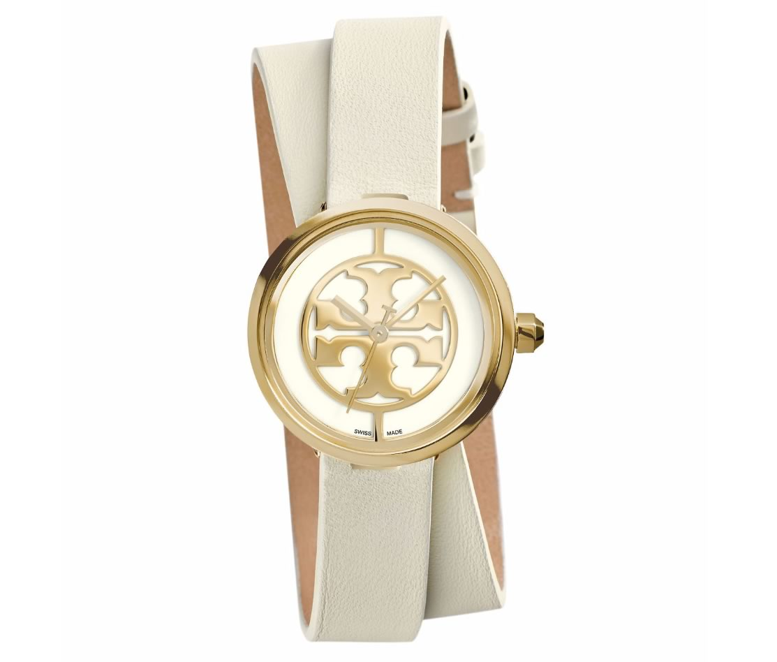 Tory Burch Reva Double-Wrap Watch 28MM