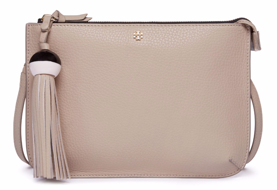 Tory Burch Tassel Bag in Clay