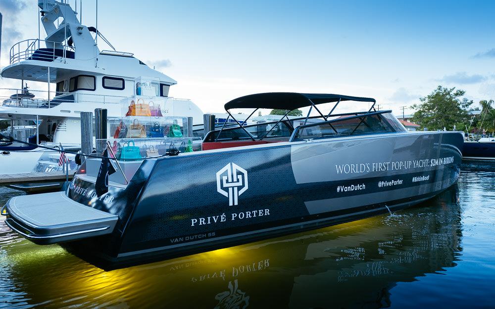 Van Dutch X Prive Porter Birkin Boat