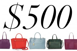 5 Under $500: Colorful Totes You Can Carry to Work