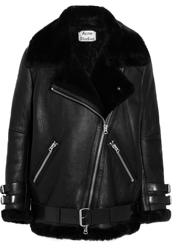 Acne-Oversized-Shearling-Biker-Jacket