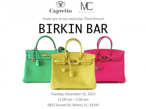 Capretto Birkin Bar