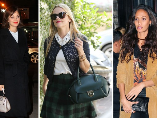 Reese Witherspoon Has Acquired Another Ferragamo Fiamma & Other Celeb Bag News