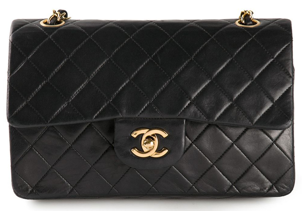 c92703562935f Chanel Vintage Small Double Flap Bag - PurseBlog