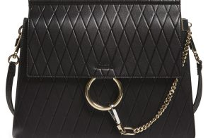 Chloe Faye Diamond Embossed Bag