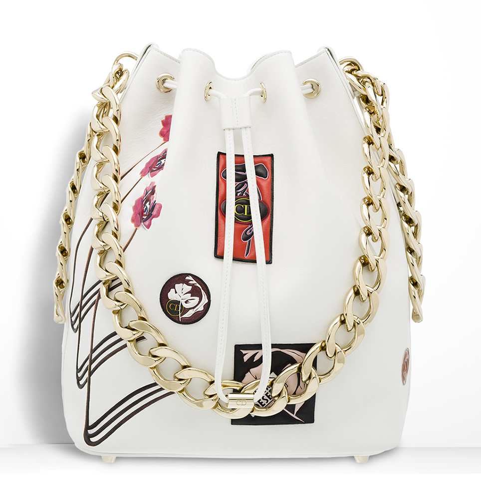 Christian-Dior-Dior-Bubble-White-Patch-Bag