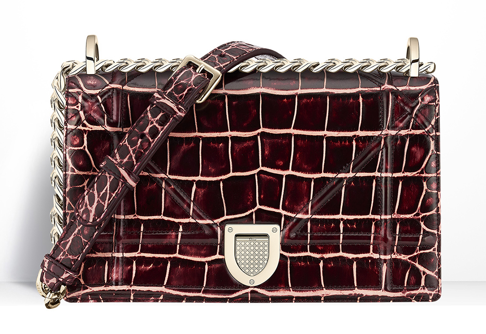 Christian-Dior-Diorama-Alligator-Bag