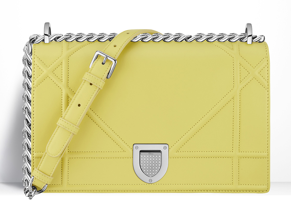 Christian-Dior-Diorama-Bag-Yellow
