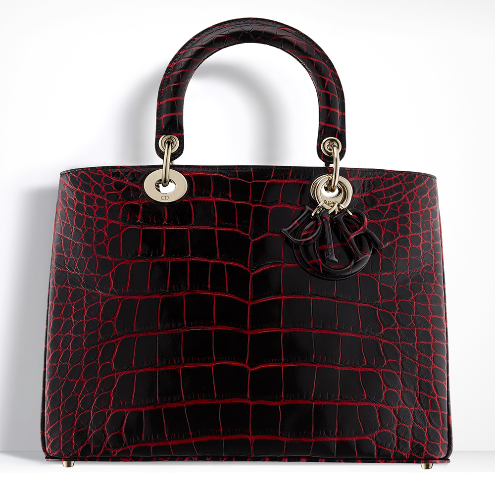 Christian-Dior-Diorissimo-Alligator-Bag