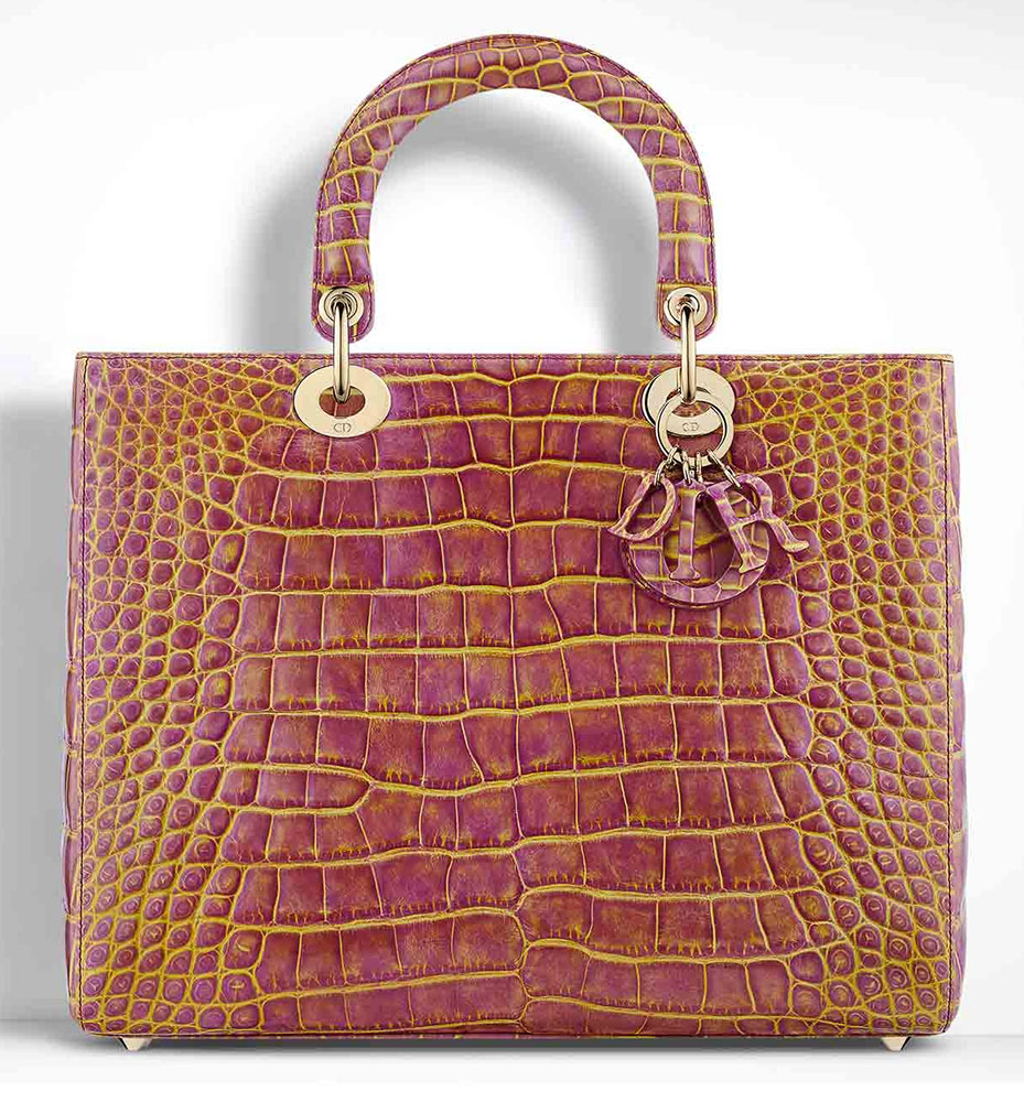 Christian-Dior-Lady-Dior-Alligator-Bag