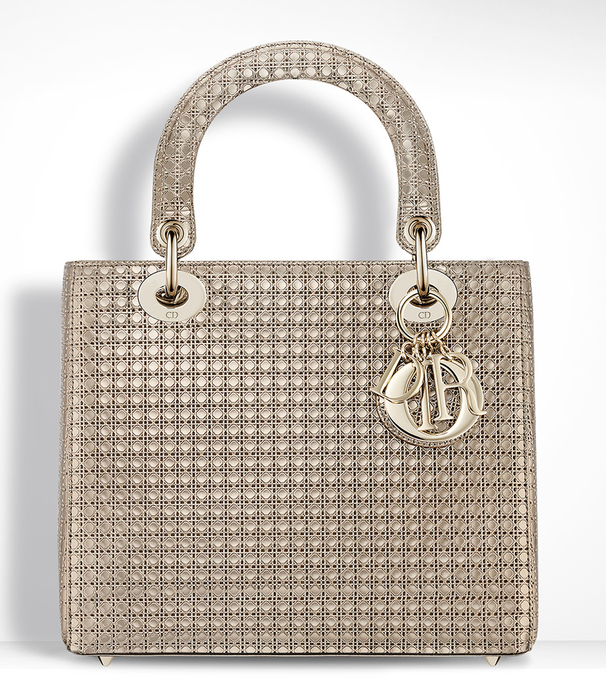 Christian-Dior-Lady-Dior-Bag-Gold-Metallic-Mini-Cannage