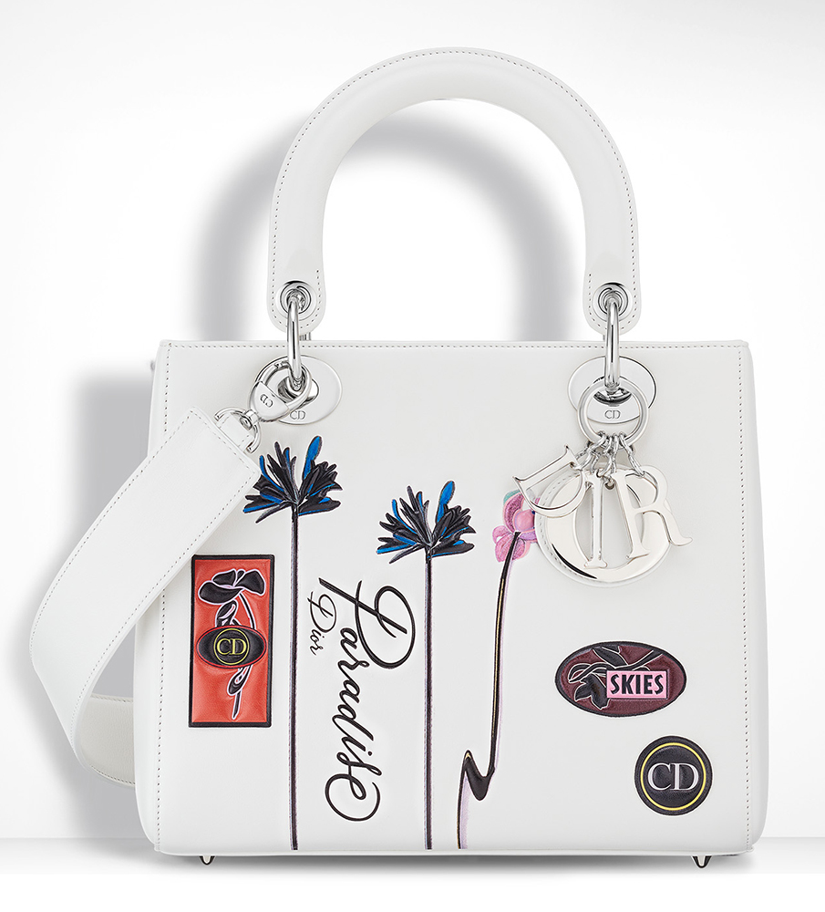 Christian-Dior-Lady-Dior-Bag-White-Embroidered