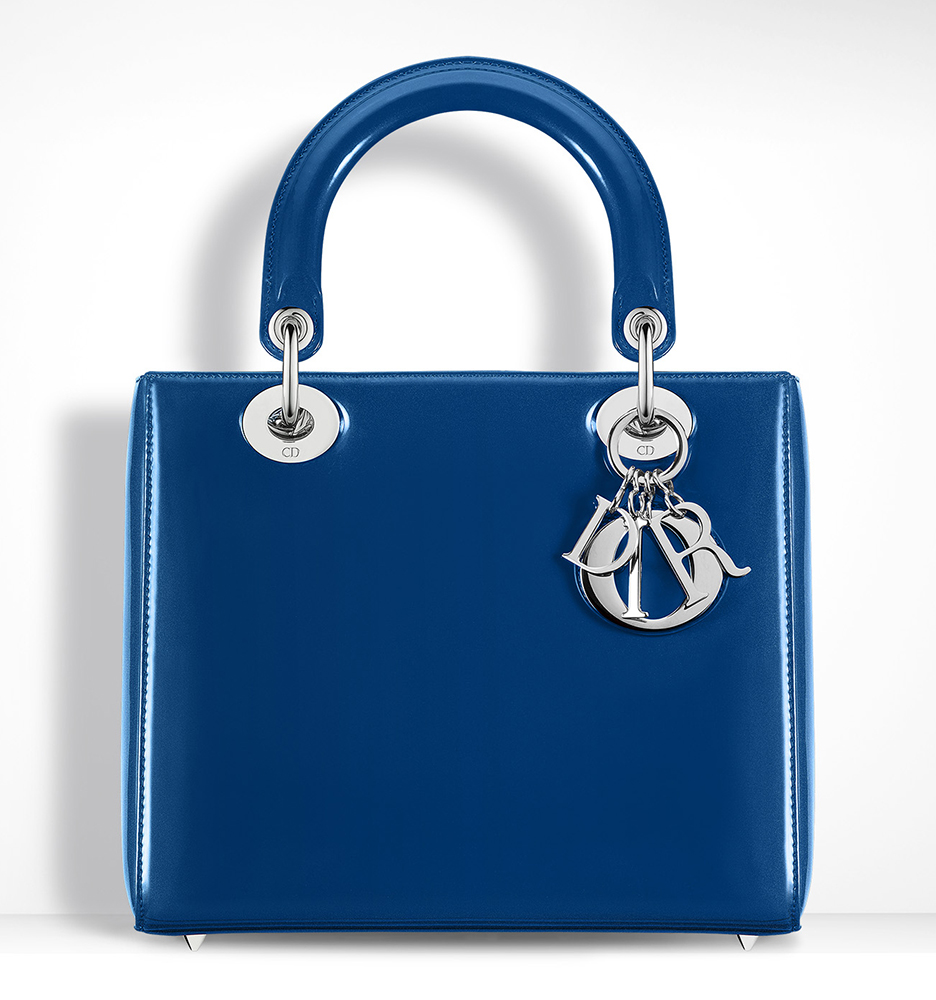 Christian-Dior-Lady-Dior-Blue-Patent