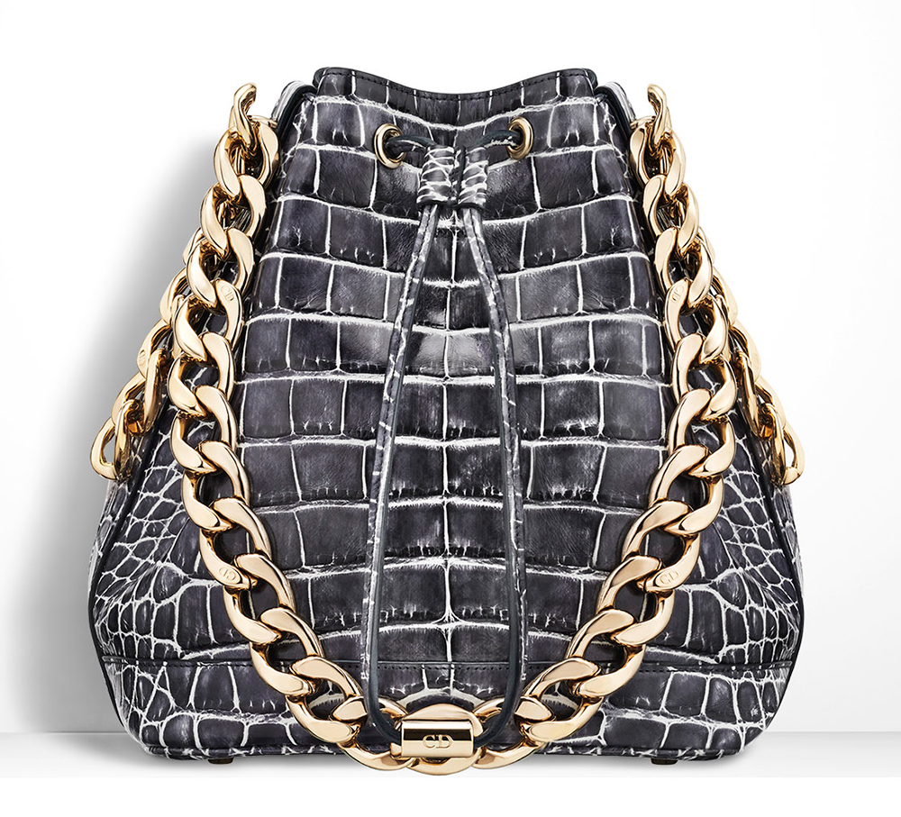 Christian-Dior-Small-Dior-Bubble-Alligator-Bag