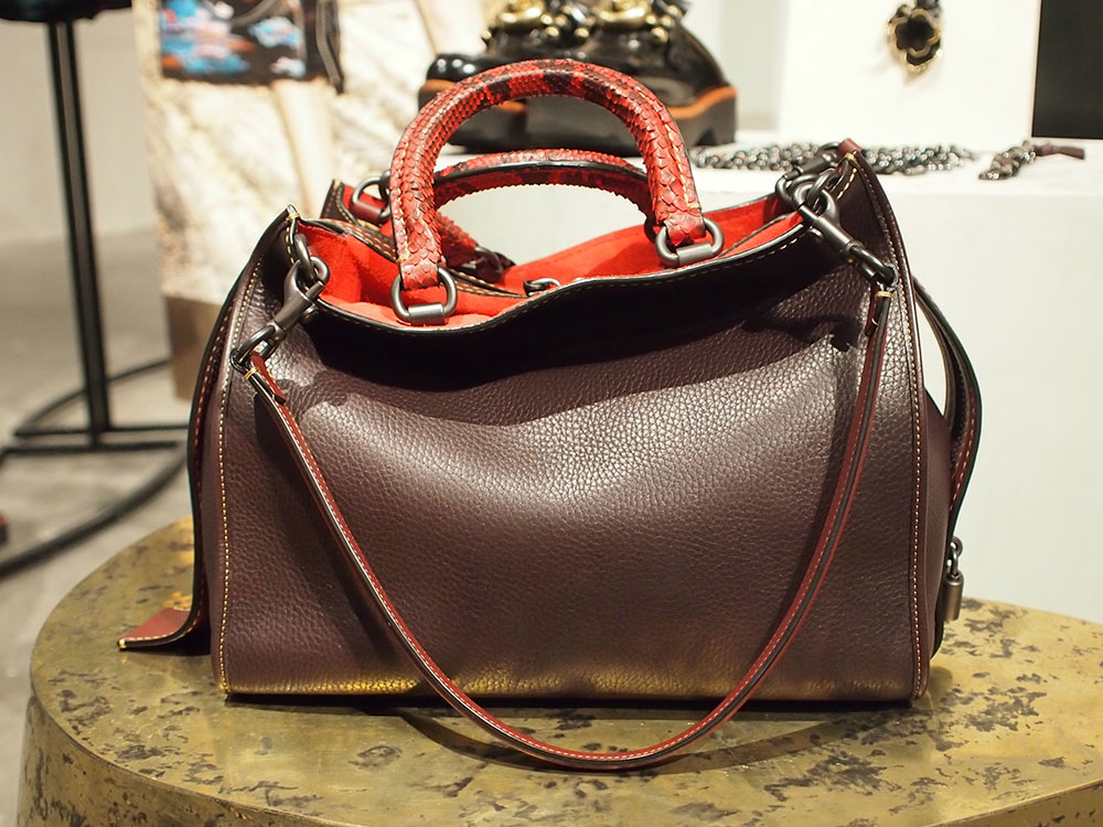 Here S Your First Look At Coach S Pre Fall 2016 Bags