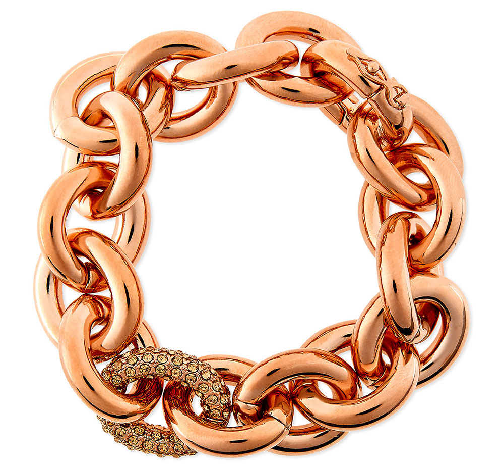 Eddie-Borgo-Rose-Gold-Plated-Chain-Link-Bracelet