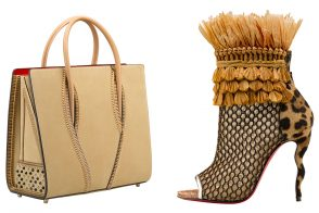 Take a Close Look at Christian Louboutin's Spring 2016 Bags and Shoes