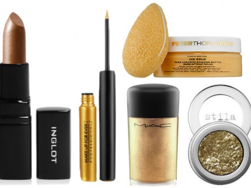 PurseBlog Beauty: 6 Gilded Beauty Products to Shine Brightest at Any Holiday Party