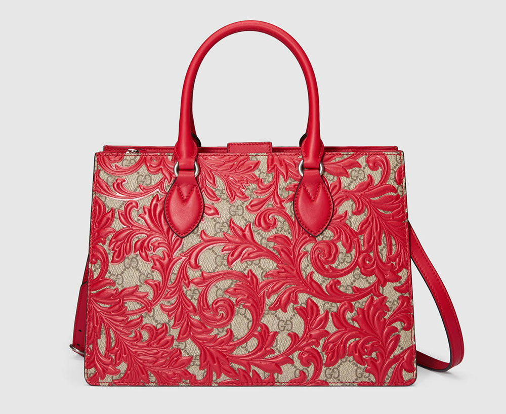 Gucci Arabesque Top Handle Bag