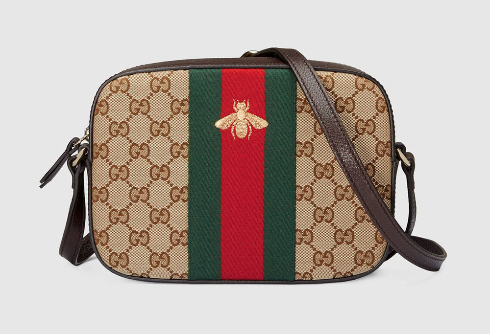 Gucci Bee Web Shoulder Bag