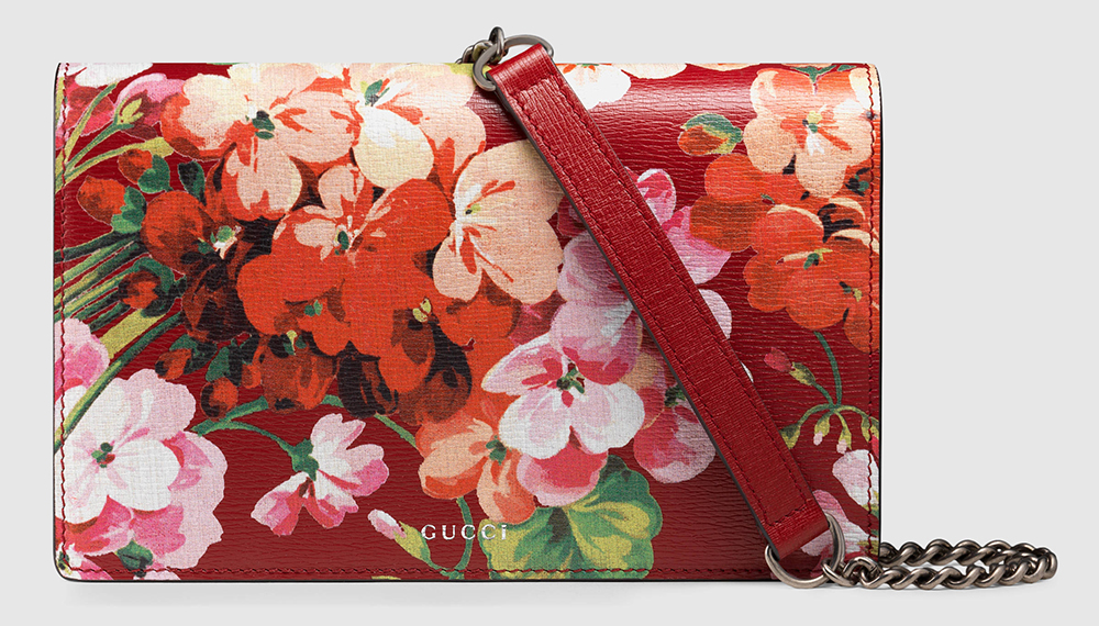 Gucci-Blooms-Leather-Chain-Wallet