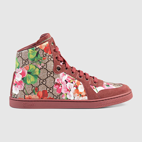 Gucci GG Blooms High-Top Sneaker